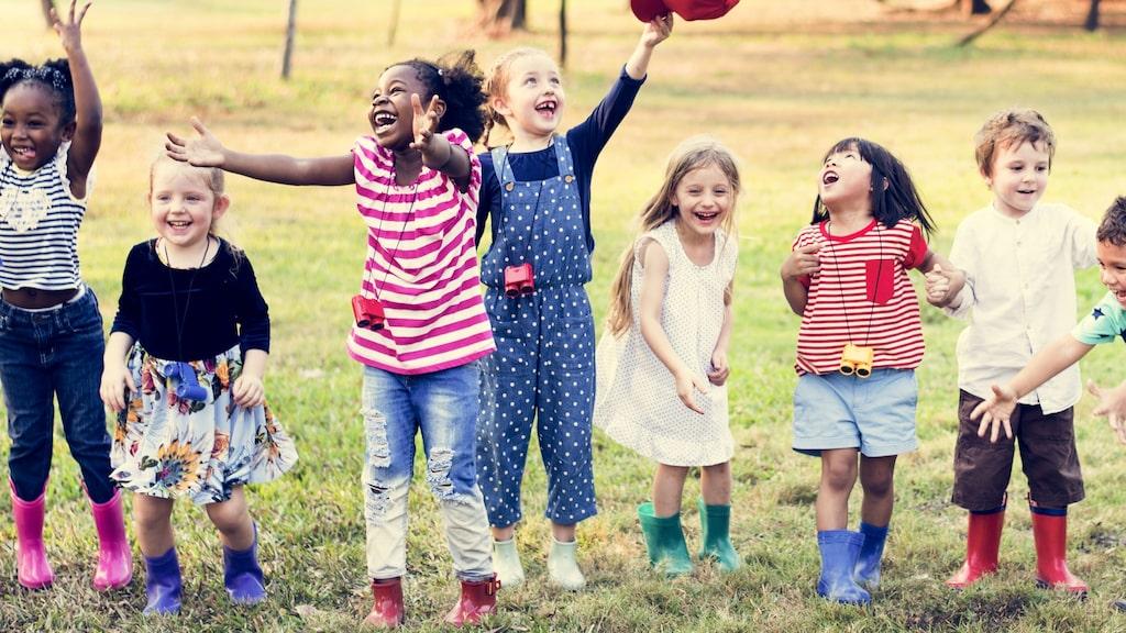 I Sverige rör sig åtta av tio barn och unga för lite.