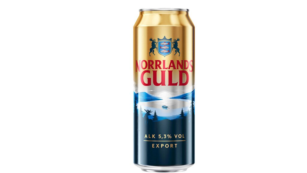 Norrlands Guld Export är Sveriges mest sålda ölsort.