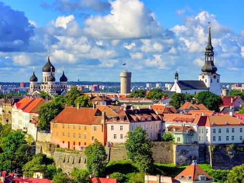 Strosa runt i Tallinn, norra Europas bäst bevarade medeltida stad.