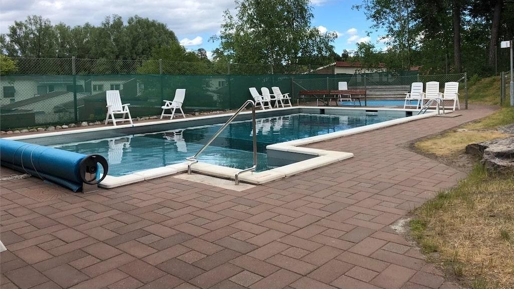 Här är den gemensamma poolen.