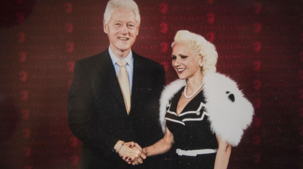 Gunhild har hyllats av USA:s expresident Bill Clinton.