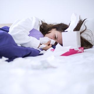 tecken på att förkylning går över