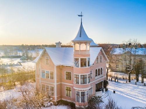 Huset från slutet av 1800-talet ligger i Söderhamn.