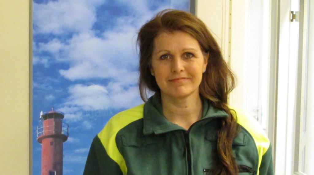 Carita Gerald har ett förflutet som sjuksköterska på SOS Alarm och i ambulans