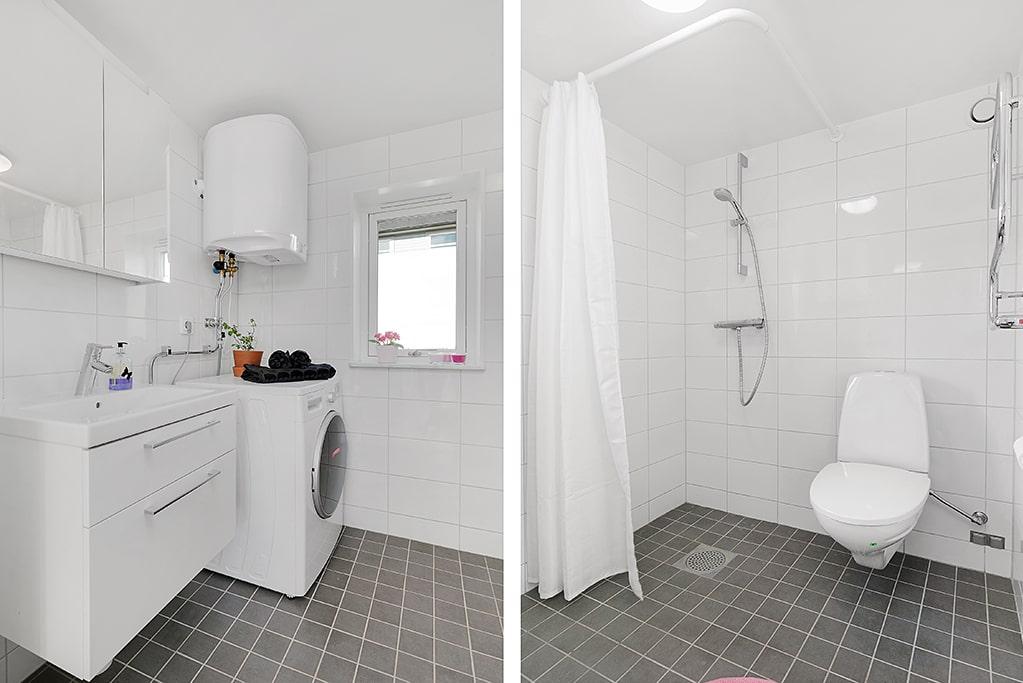Helkaklat duschrum.