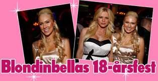 blondinbellas 18 års fest Blondinbella firade 18 år med kändisfest | Nöje | Expressen blondinbellas 18 års fest
