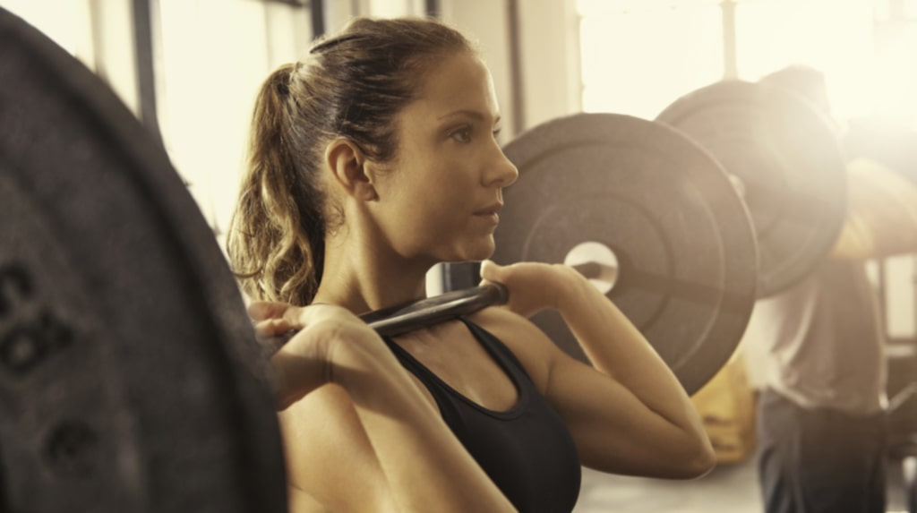 <p>Genom att träna axlarna får du ofta med armar, nacke och muskler runt skulderbladen på köpet.<br></p>