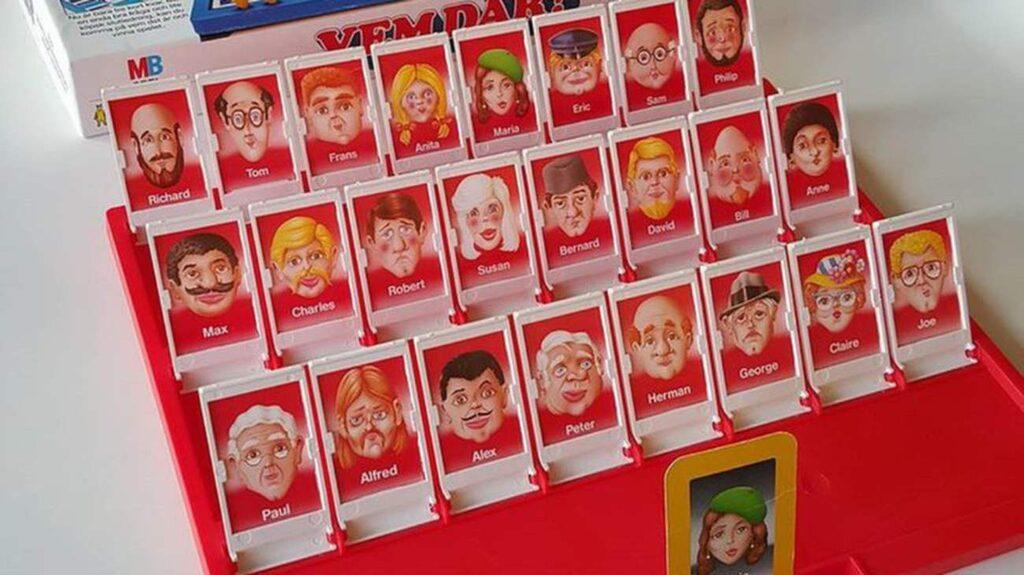 Vem där? Det här spelet gillades förstås mest av barnen – men vad faktiskt ganska roligt för lite äldre personer också...