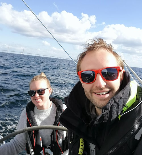 """""""Närheten till havet är nog det bästa"""", säger Emmy om båtlivet."""