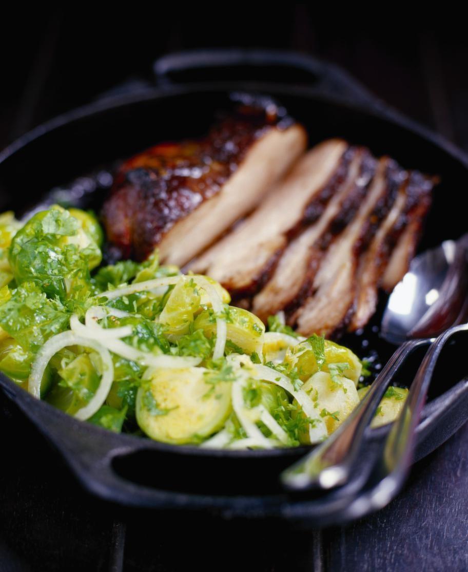 Brysselkål<br>Serveringstips: Fräs med vitlök, citron och honung och servera den till exempel till kyckling.