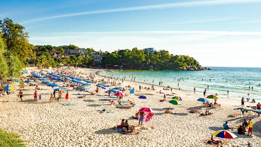 Kata Beach, älskad av familjer.