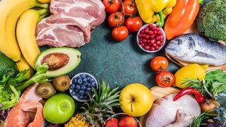 mat som innehåller mycket kalorier