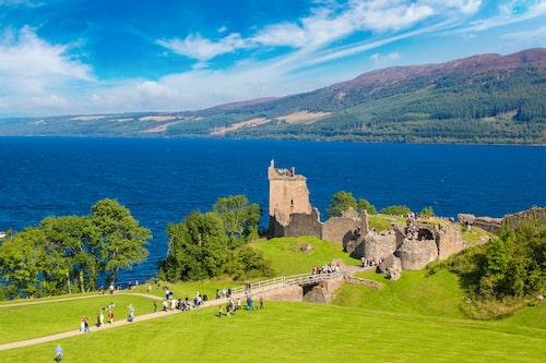 Även om omgivning är fin är fenomenet Loch Ness inte värt att spendera pengar på.