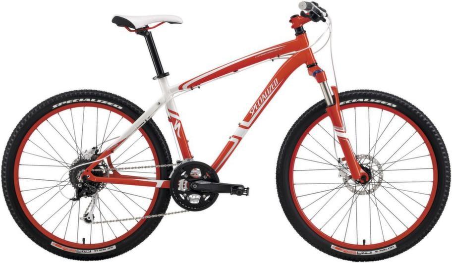 Mountainbike<br>Kraftig cykel som klarar svår terräng. Cyklar med framdämpning går också att ha till vardags, särskilt om du byter till slätare, smalare däck. Specialized Hardrock Pro Disc, ca 7 998 kronor