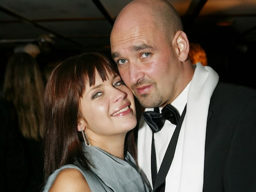 Patric och Anna på Mirres bröllop 2003.