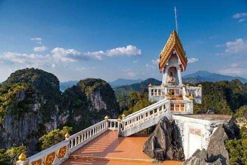 Utsikt från Tigergrottans tempel.