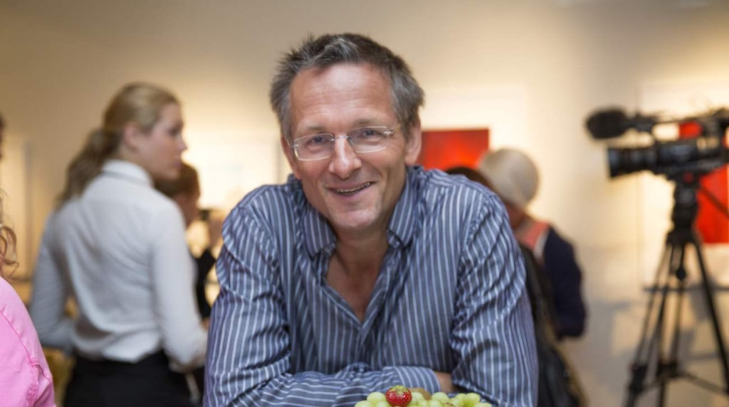 Vetenskapsjournalisten och 5:2-gurun Dr Michael Mosley.