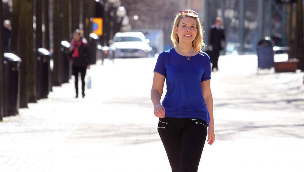 21-åriga Alexandra bytte till laktosfritt och fick en nystart.
