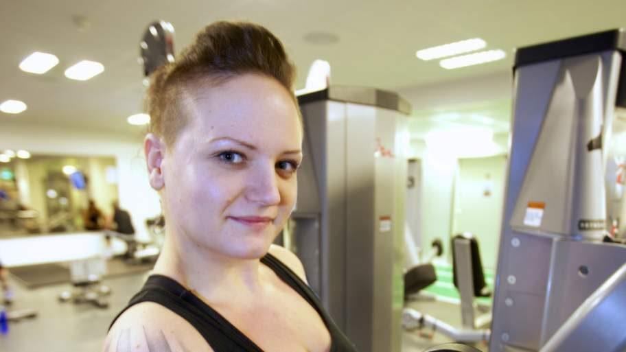 Efter: Balans. Nyårsafton 2013 hade Malin lyckats gå ner 26 kilo. I dag har hon funnit en balans mellan mat och träning. <br>Foto: Mats Endermark<br>
