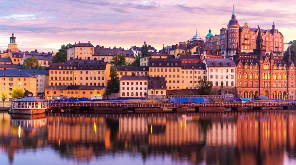 """""""Nordens Venedig"""" - Stockholm och Amsterdam."""
