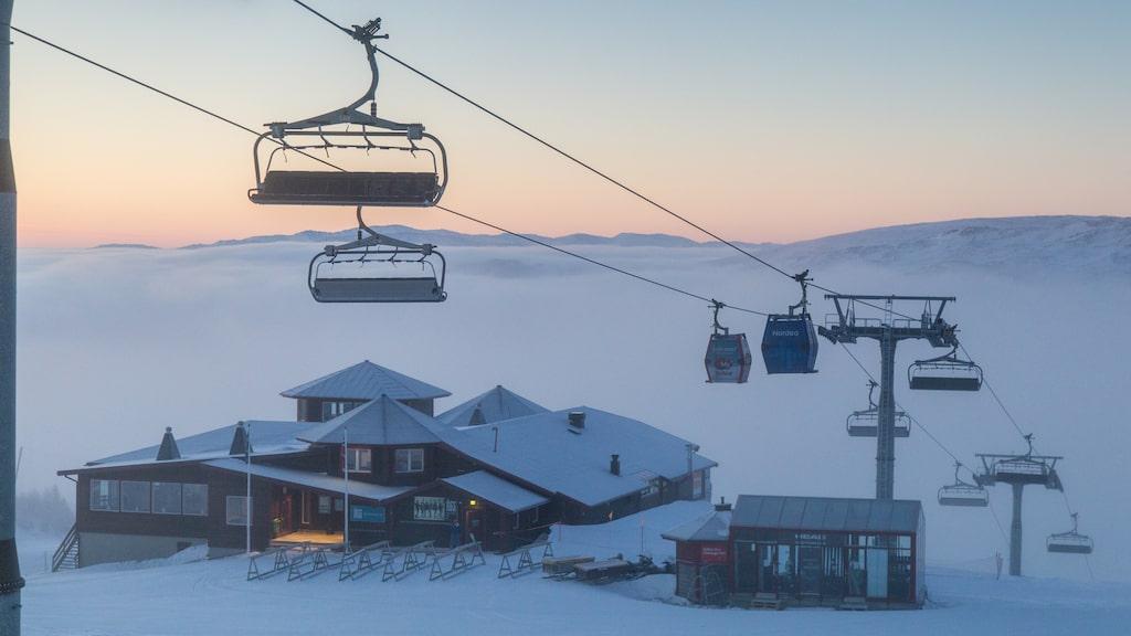 Åre är den enda svenska skidorten som tar sig in på listan.
