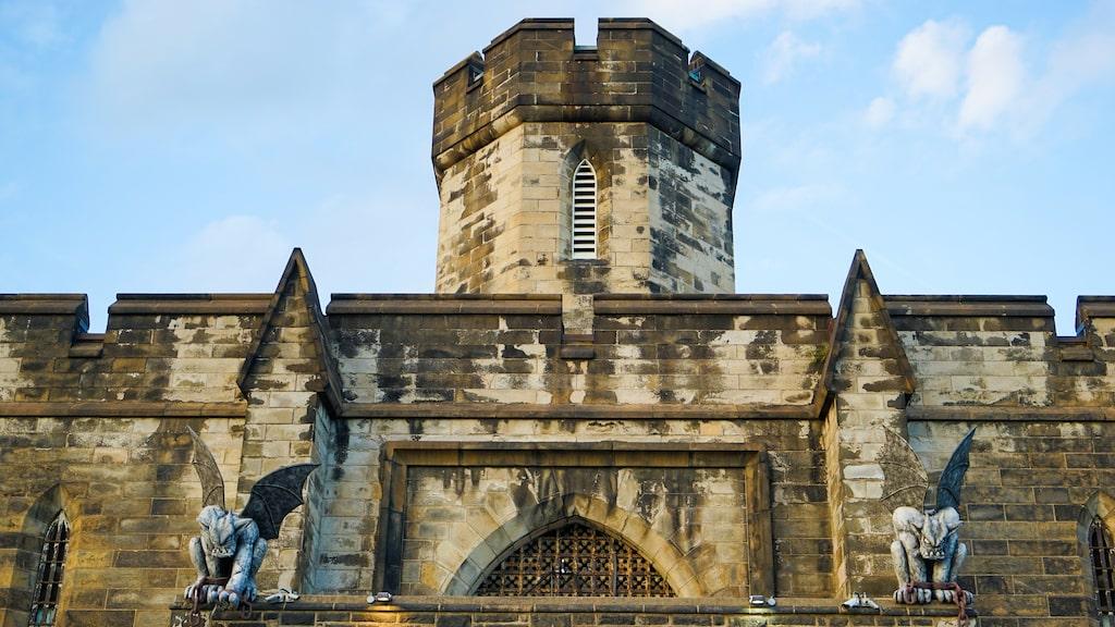 Brottslingar avtjänade sina straff på Eastern state penitentiary i Philadelphia mellan 1829 och 1971.
