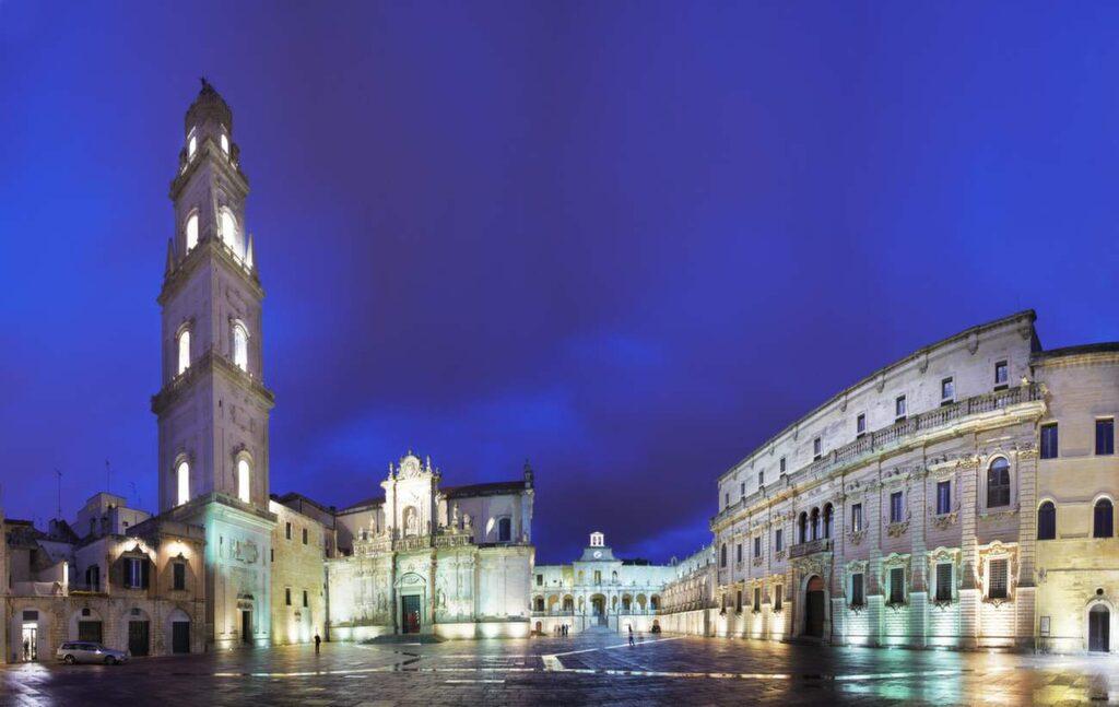 <p>Den vita oasen Lecce.</p>