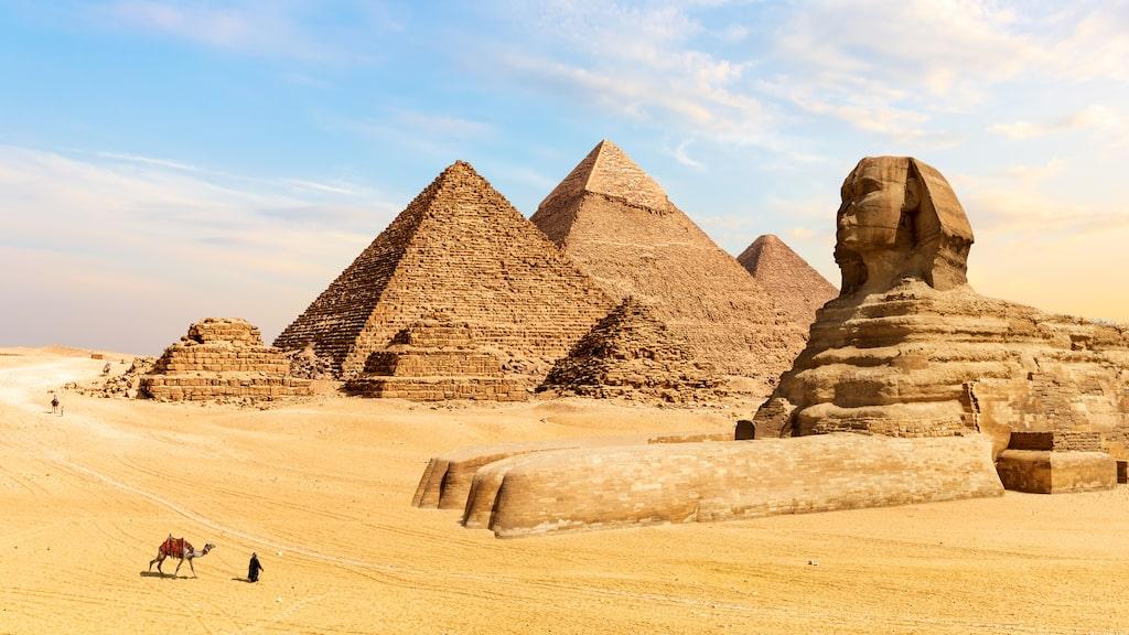 Ett av de mest klassiska underverken: Egyptens pyramider.