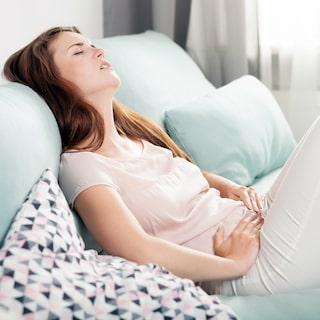 mensvärk 8 dagar innan mens