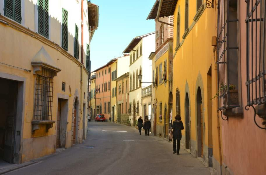 San Miniato är staden mitt i allt, med ungefär 35 kilometer till Pisa, Lucca och Florens och 55 till Siena och Livorno.