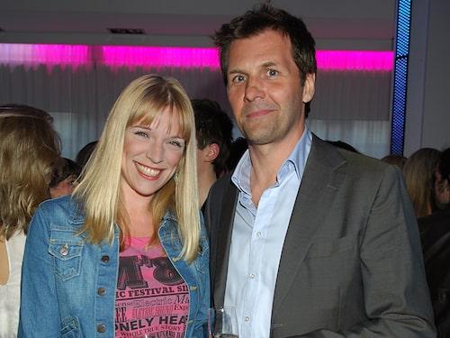 Micke Leijnegard med hustrun Sanna.