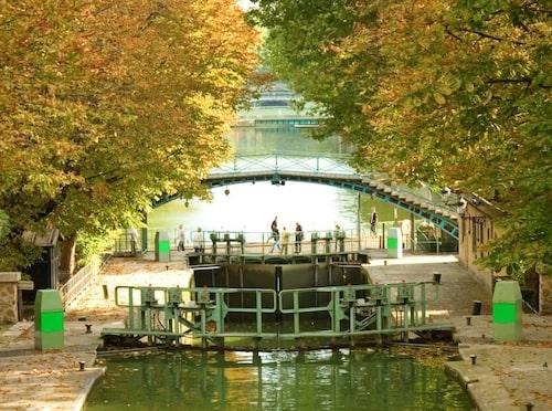 Canal St Martin – Paris svar på Williamsburg.