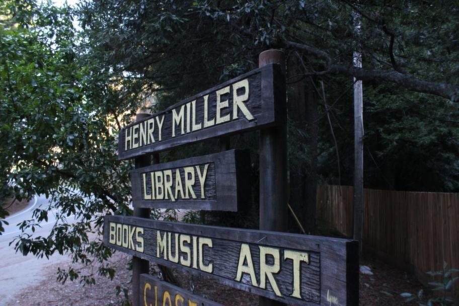 Författarna Jack Kerouac och Henry Miller sökte sig till Big Sur för att skapa.<br>