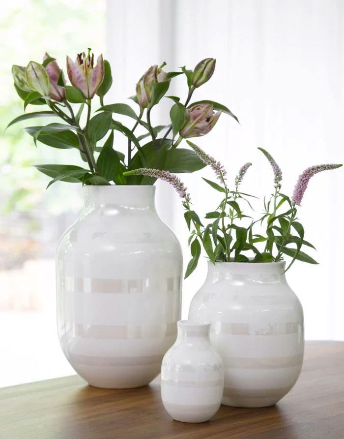 Fina krukor och vaser är uppskattade presenter.