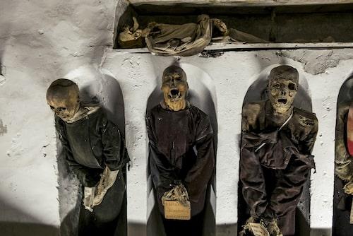 """I """"Dödens museum"""" är det inte längre tillåtet att fotografera kropparna."""