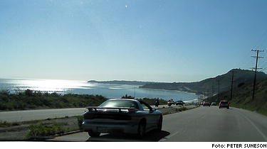 Highway 1 - vägen längs Kaliforniens kust är lika vacker som berömd.