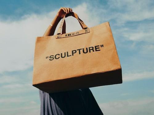 Virgil Ablohs tolkning av klassiska Ikea-kassen.