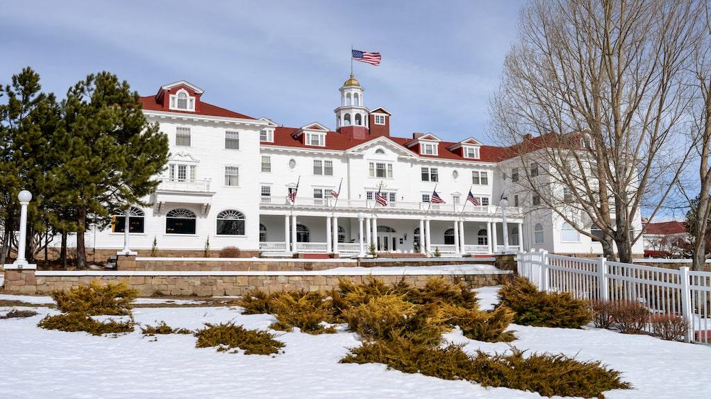 """The Stanley Hotel i Colorado, USA, inspirerade Stephen King till att skriva """"The Shining""""."""