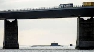 Svensk tog sig ombord pa atomubat