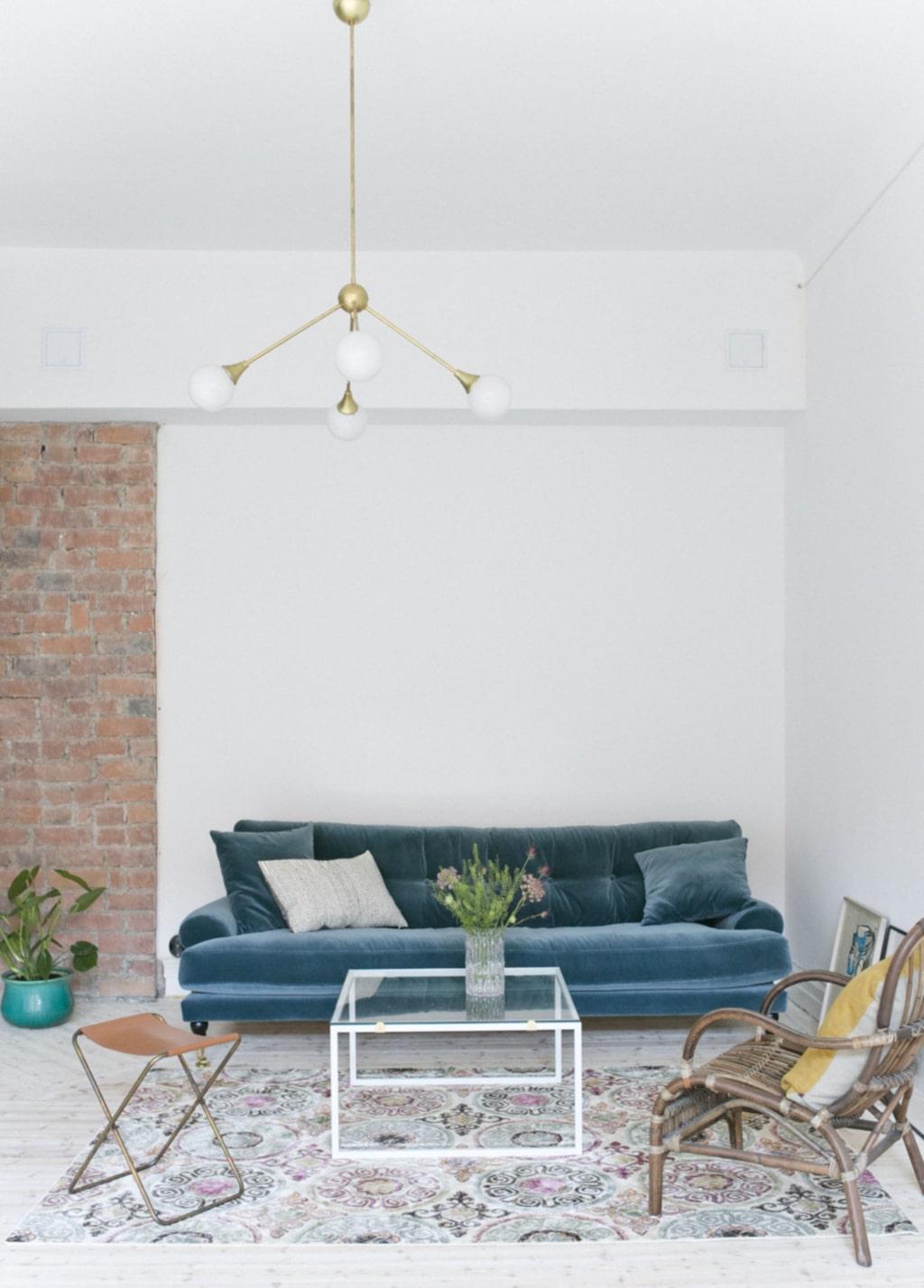 Drömsoffa. Den nya soffan från Meli Meli home är både skön och snygg!