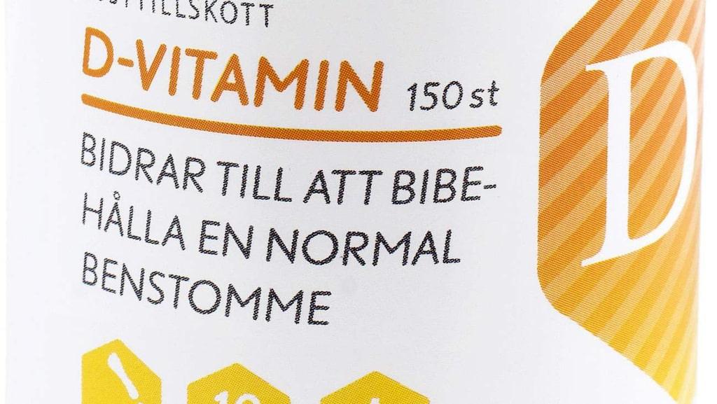 <p>D-vitamintillskott på vintern?</p>