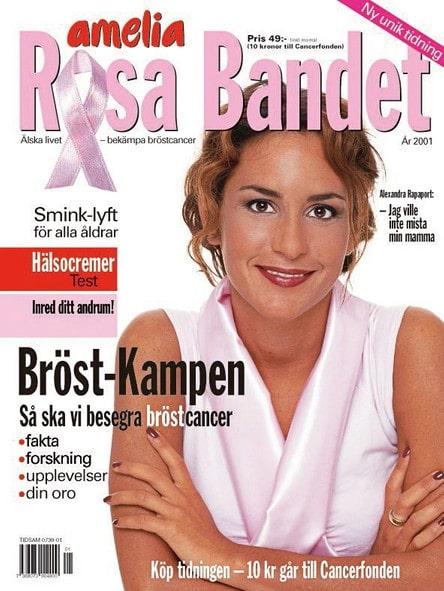 Amelia Adamo startade Rosa bandet i Sverige för 20 år sedan.