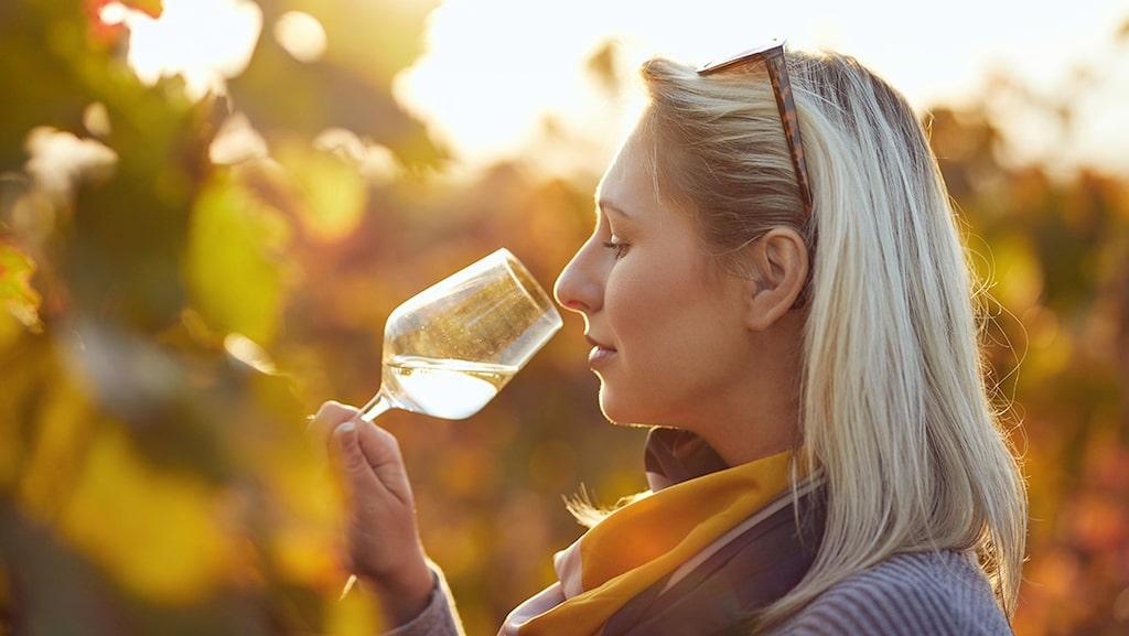 Om du ser vilken färg vinet har kan du bli lurad.
