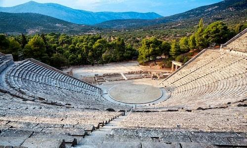 Epidauros-teatern.