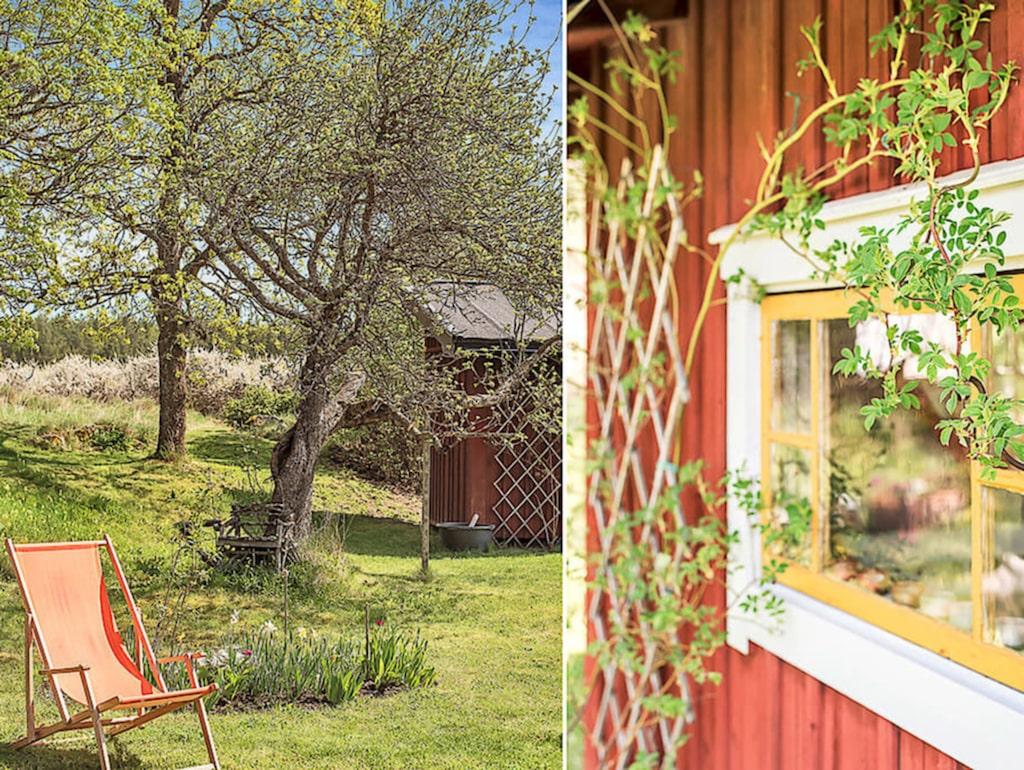 """Huset kallas """"Barnmorskan"""" då det en gång i tiden bodde en barnmorksa här."""