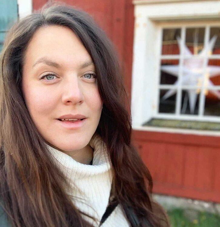 """Alexandra Malmqvist Olsson och hennes familj har firat novent sedan 2014. """"Vi älskar julen så det är en perfekt anledning till att tjuvstarta med myset"""", säger hon."""