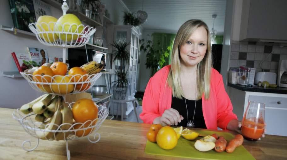 Joslagbart. Anna Lohi, 29, tyckte att de första dagarna av juicefastan var tuffa men sedan dess har hon känt sig friskare och starkare.