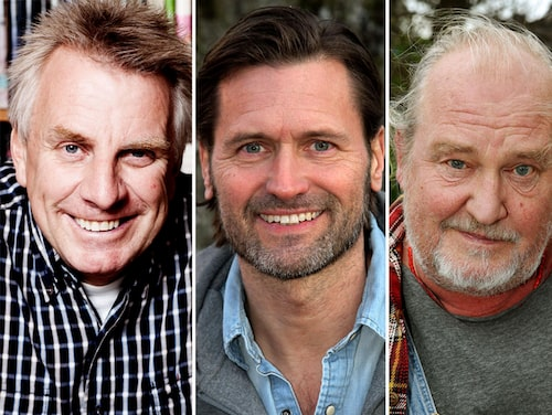 Pigge Werkelin, Martin Melin och Plura Jonsson.