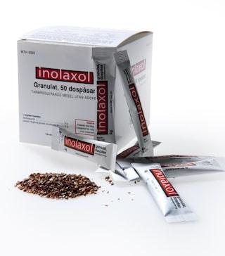 inolaxol granulat biverkningar