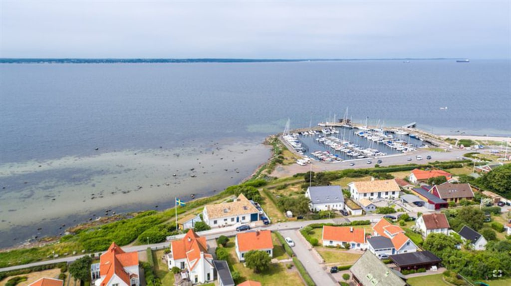 <p>Huset vid havet! Utsikt över Öresund.</p>